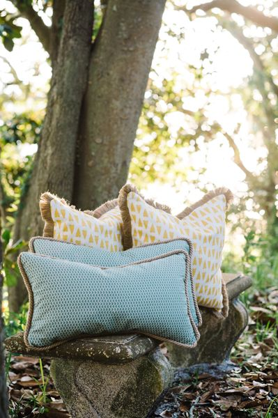 Hornet Nest and Arrowhead Pillows