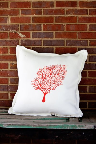 Large Pattern shown on 24 in. x 24 in. Pillow