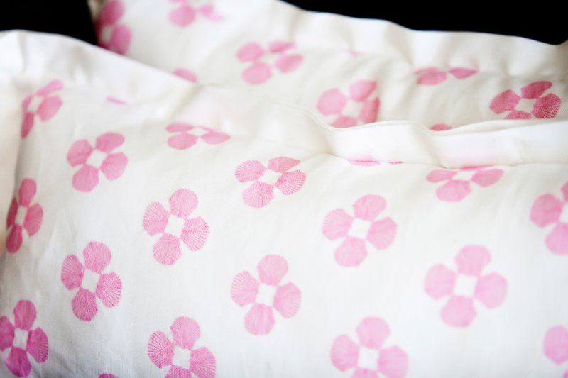 Small Pattern on 10 in. x 20 in. Pillows