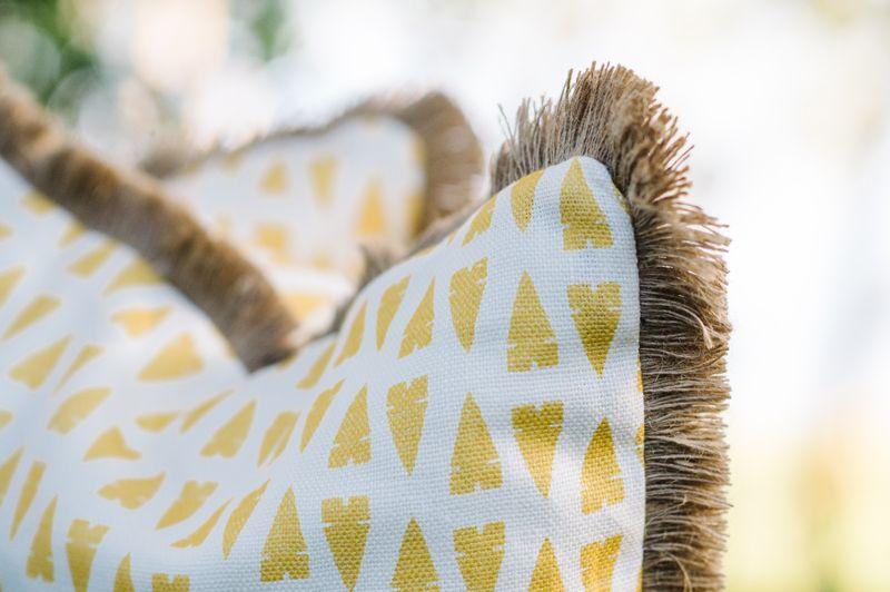 Natural Hemp Brush Fringe